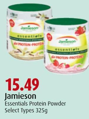 Jamieson Essentials Protein Powder