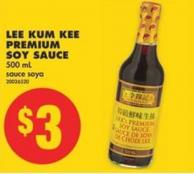 Lee Kum Kee Premium Soy Sauce - 500 mL