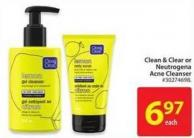Clean & Clear Neutrogena Acne Cleanser