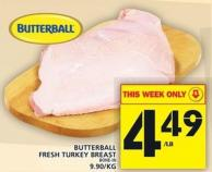Butterball Fresh Turkey Breast