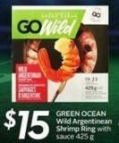 Green Ocean Wild Argentinean Shrimp Ring
