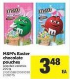 M&m's Easter Chocolate Pouches - 200 g