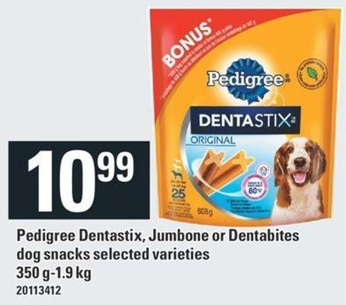 Pedigree Dentastix - Jumbone Or Dentabites Dog Snacks - 350 G-1.9 Kg