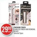 Finishing Touch Flawless Finish Hair Removal Device