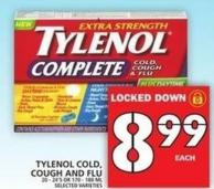 Tylenol Cold - Cough And Flu
