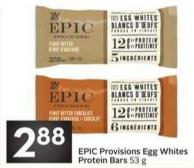 Epic Provisions Egg Whites Protein Bars