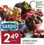 Sardo Olives or Antipasti