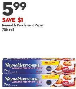 Reynolds Parchment Paper 75ft Roll