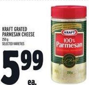 Kraft Grated Parmesan Cheese