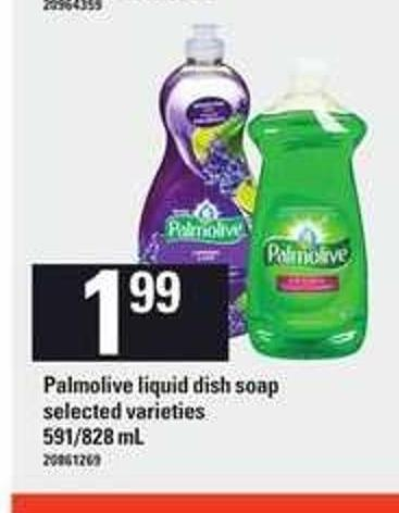 Palmolive Liquid Dish Soap - 591/828 mL