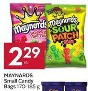 Maynards Small Candy Bags 170-185 g