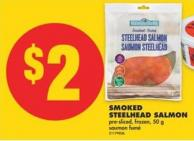 Smoked Steelhead Salmon - 50 g