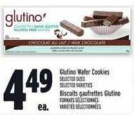 Glutino Wafer Cookies