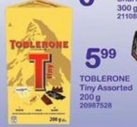 Toblerone Tiny Assorted - 200 G