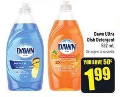 Dawn Ultra Dish Detergent 532 ml