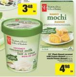 PC Plant-based Coconut Milk Frozen Dessert - 500 Ml Or Mochi Frozen Dessert - 210 Ml