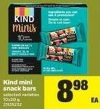 Kind Mini Snack Bars - 10x20 g