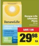 Renew Life Ultimate Flora 30 Ea