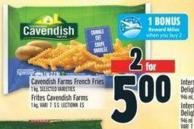 Cavendish Farms French Fries 1 Kg