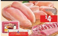 Chicken Breasts Or Thighs Fresh - Boneless Skinless