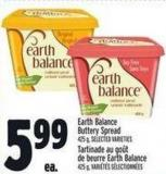 Earth Balance Buttery Spread 425 G