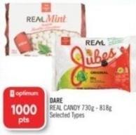 Dare Real Candy 730g - 818g