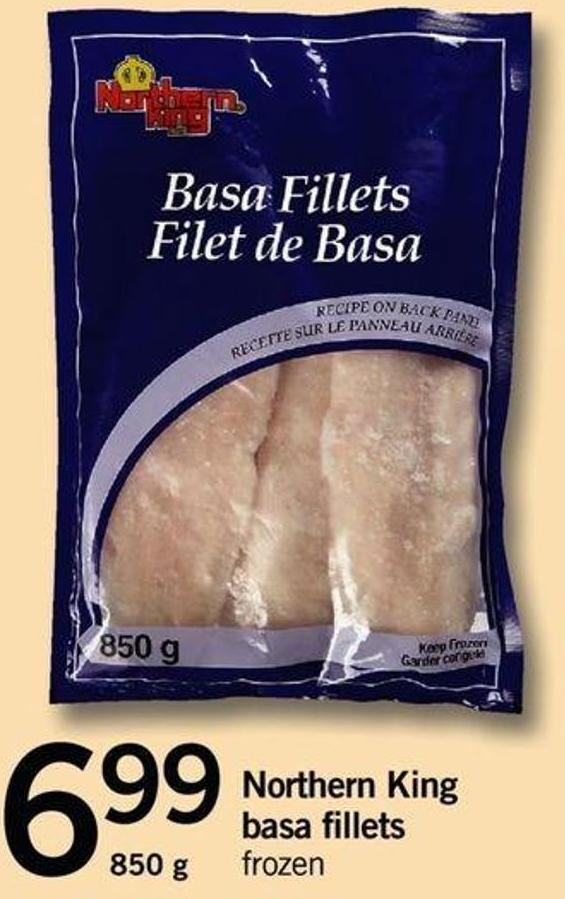 Northern King Basa Fillets - 850 g