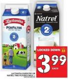 Lactantia Purfiltre Or Natrel Fine-filtered Milk