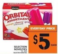 Selection Novelties
