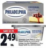 Philadelphia Cream Cheese 227 - 250 G Or Whipped Frosting 280 G