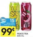 Peace Tea 695 mL 15 Air Miles Bonus Miles