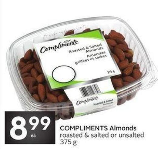 Compliments Almonds