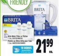 Brita Water Filter Or Pitcher