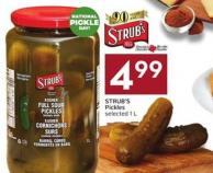 Strub's Pickles