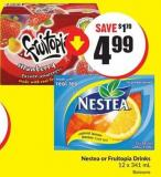 Nestea or Fruitopia Drinks 12 X 341 mL