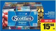 Scotties Facial Tissue - 18x126 Sheets