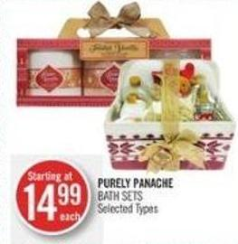 Purely Panache Bath Sets
