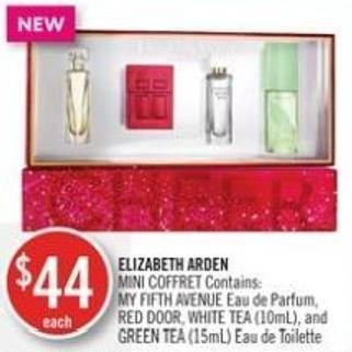 Elizabeth Arden Mini Coffret Contains: My Fifth Avenue Red Door - White Tea (10ml) - and Green Tea (15ml)