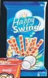 Happy Swing Wafers - 150 g or Meiji Yan Yan - 57 g