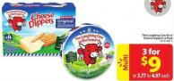 The Laughing Cow 8s or Cheese Dippers 4-pack