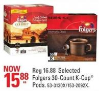 Folgers Selected Folgers 30-count K-cup Pods