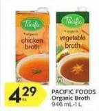 Pacific Foods Organic Broth