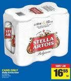 Stella Artois Beer - 6 X 500 mL