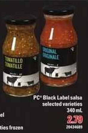 PC Black Label Salsa - 340 mL