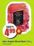 Marc Angelo Sliced Meat 100 g