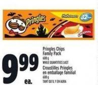 Pringles Chips Family Pack 608 G
