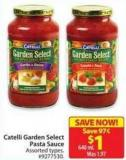 Catelli Garden Select Pasta Sauce