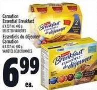 Carnation Essential Breakfast 6 X 237 ml - 400 g