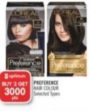 L'oréal Preference Hair Colour