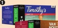 Selected Timothy's K-cup Pods